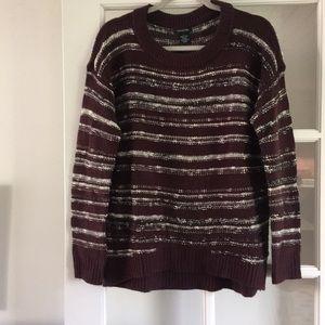 Calvin Klein Jeans Dark Burgundy Sweater